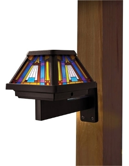 Solar Inglenook Wall Light (SC91241) - 6 Times Brighter
