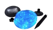 Solar Tube Light - 50 Blue LED