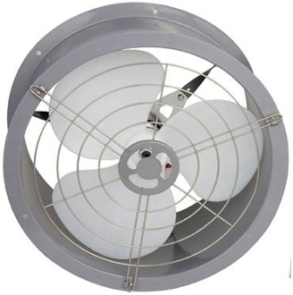 Omicron Industrial Ventilation Fan - 20W Solar Power