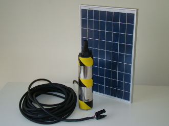 Solar Powered DELTA-5 Deep Well Pump