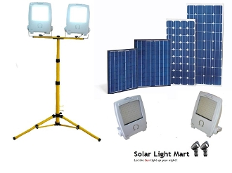 Mini Omega Solar Floodlight