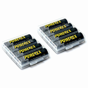 PowerEx 2700mAh NiMH Rechargeable Battery - 8 Units