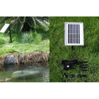 Solar Fountain Pump with Industrial Grade Solar Panel