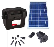 Solar Medium Pump With Battery Bank