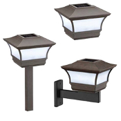 4 in 1 Solar Premium Light - Set of 2 Lights