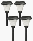 Solar LED Path Light - Set of 4 Path Lights
