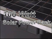 Solar Alpha Power Pack 100W