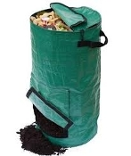 Compost Bag - Dark Green