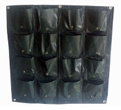 Vertical Wall Planter Bag - 16 Pocket