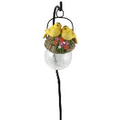 Solar Goldfinch Pendant Light
