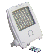 10-20W Omega LED Floodlight - 12Vdc with dimmer function, RF Remote Control
