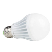 5W LED E27 Light Bulb -12-24VDC, 350 Lumen