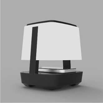 Solar Wireless Speaker With Night Light (Induction Technology)