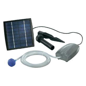 Solar Powered Air Pump With Airstone