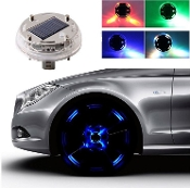 Solar Decorative Wheel Light - Set of 4 Lights