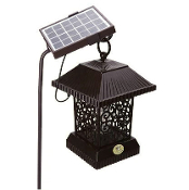 Solar Powered Mosquito Equalizer Killer With Solar Light