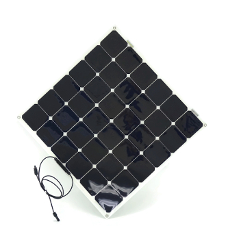 Solar Panel 100Wp Semi Flexible Sunpower Cells