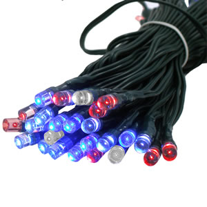 Solar Festive Light - 100 LED Multi Colour