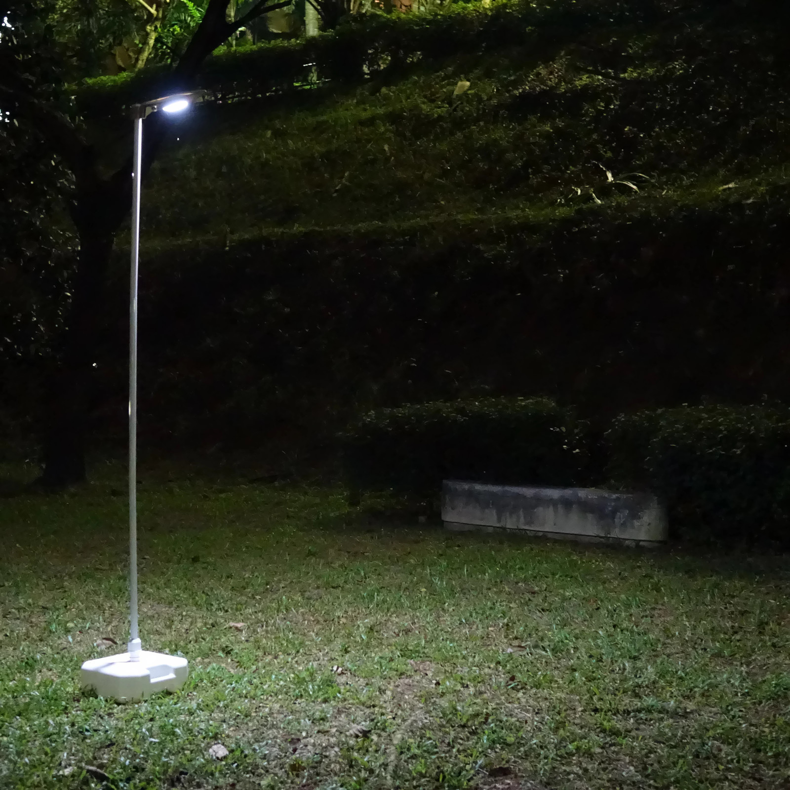 Standard Parking Lot Light Pole Height: Solar 400X Mini Street Light , Park Lighting, Security