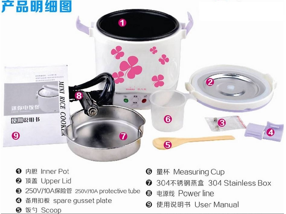 Mini Rice Cooker8 mini rice cooker 12vdc system cooker fuse box at nearapp.co